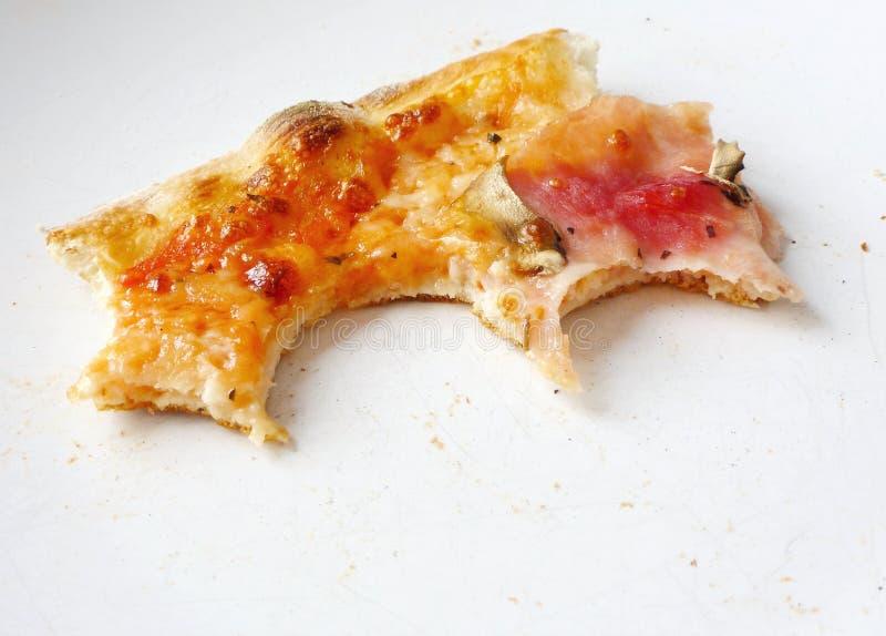 rester pizza arkivbilder