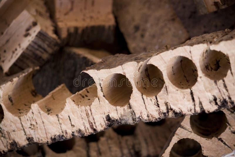 Resterende cork royalty-vrije stock foto