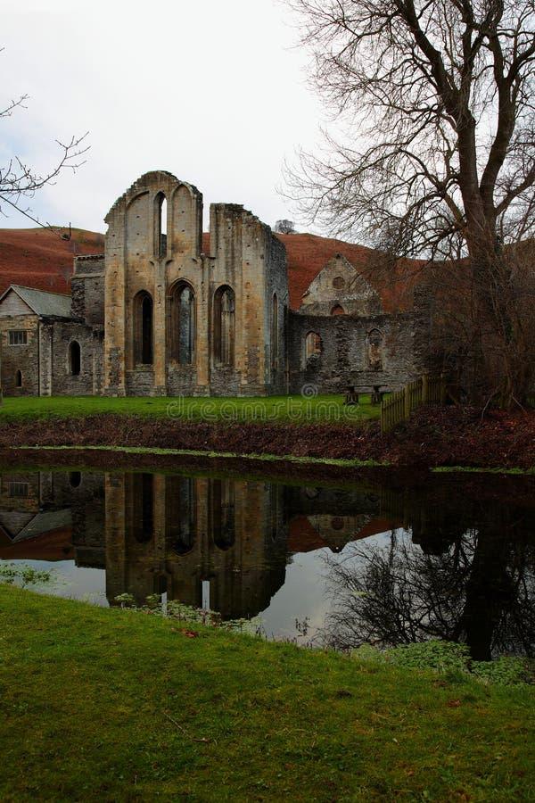 Restes d'abbaye de Valle Crucis près de Llangollen photographie stock
