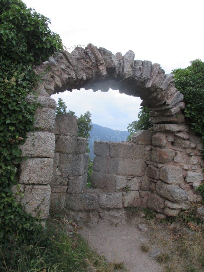 Restes de château images stock