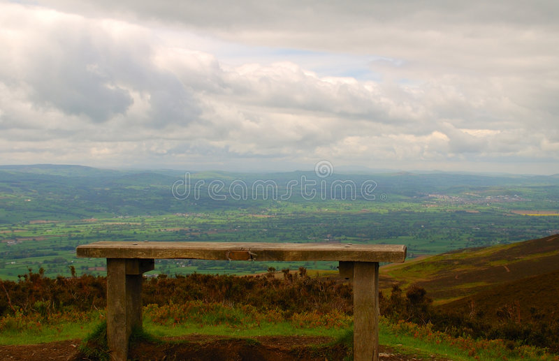 Download Resting Bench stock image. Image of alone, hill, relax - 780621