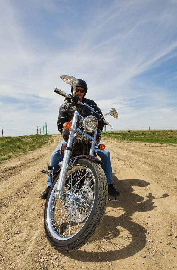 Download Resting biker stock photo. Image of pride, ride, angle - 9295242