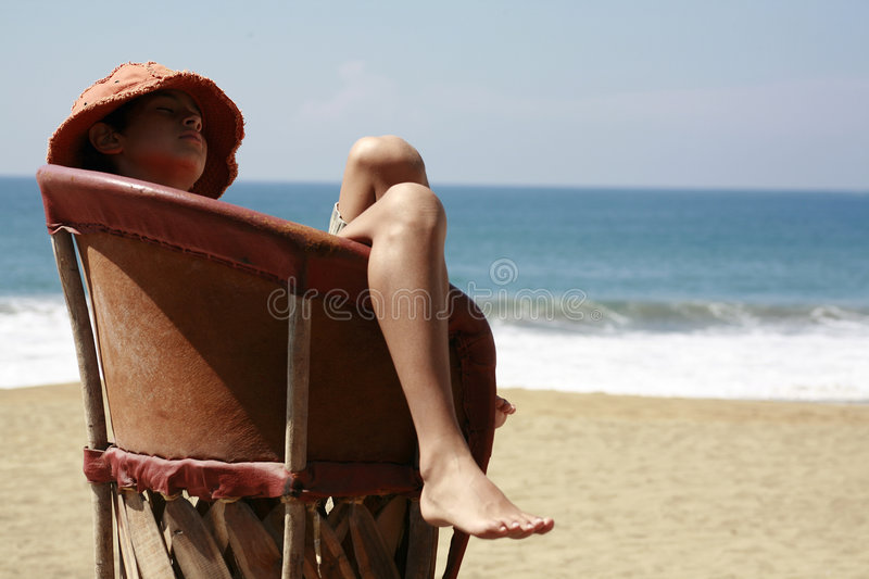 Resting breeze royalty free stock photography