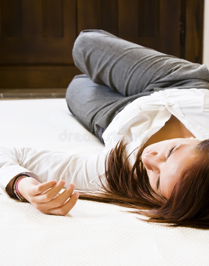 Download Resting businesswoman stock photo. Image of business, hotel - 7843128