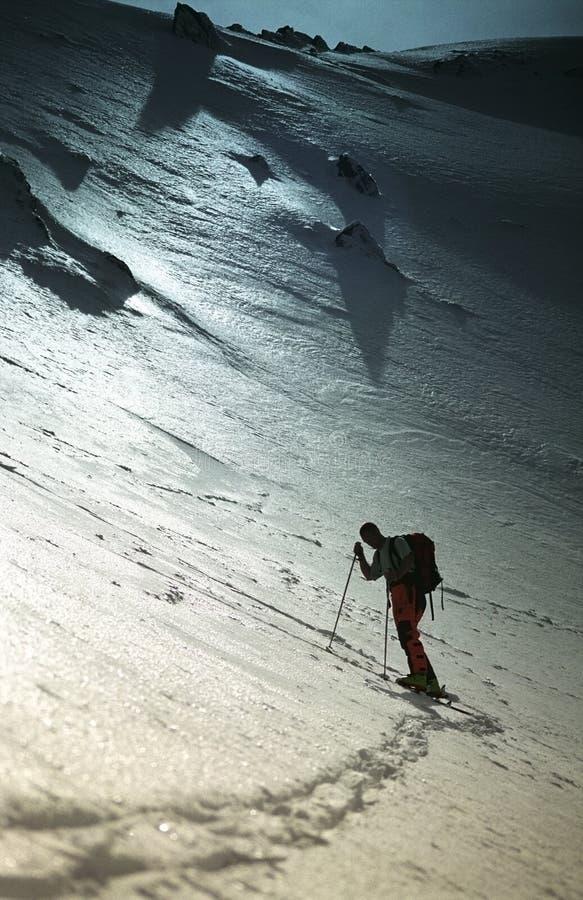 Resting Climber In Sambara Mare Valley stock photo