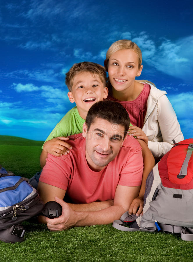Download Resting family stock image. Image of portrait, mother - 12134523