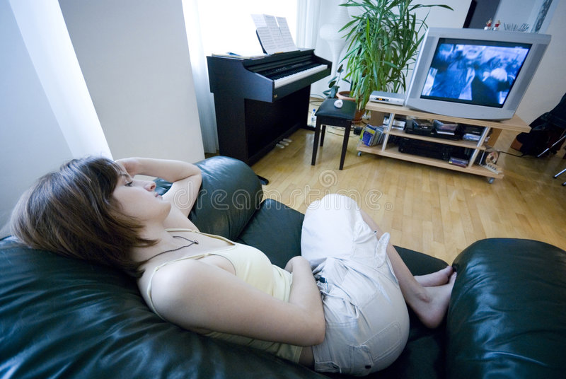 Download Resting Indoors Stock Images - Image: 2716534
