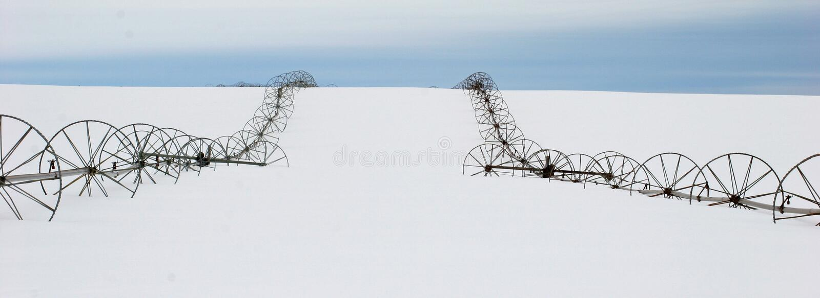 Resting Wheel Lines royalty free stock photo