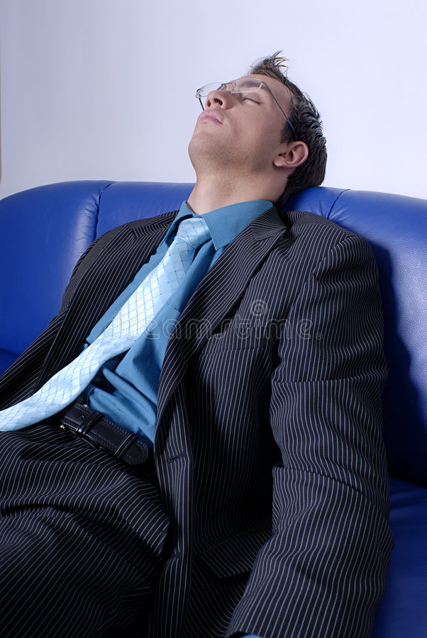 Download Resting at work stock photo. Image of couch, work, smart - 2486926
