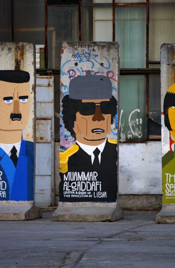 Resto di Berlin Wall fotografia stock libera da diritti