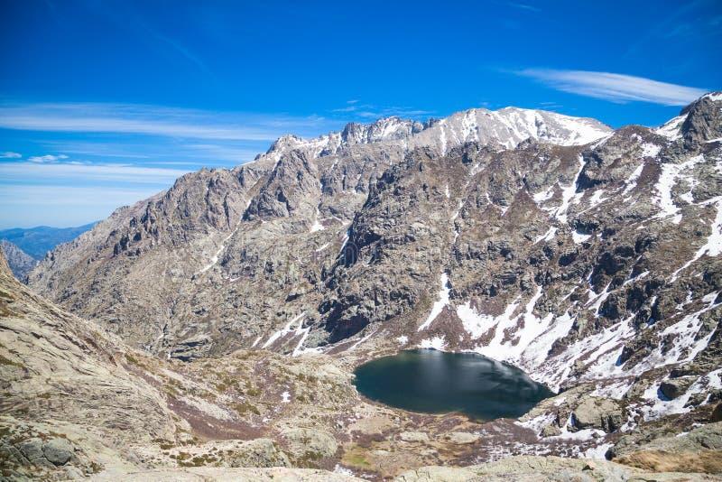 Restonica valley in Corsica stock photos