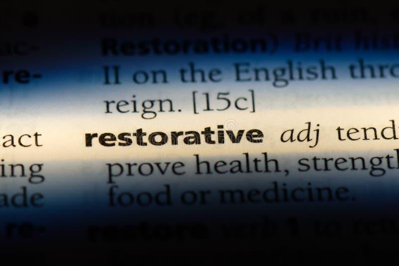 restorative arkivfoton