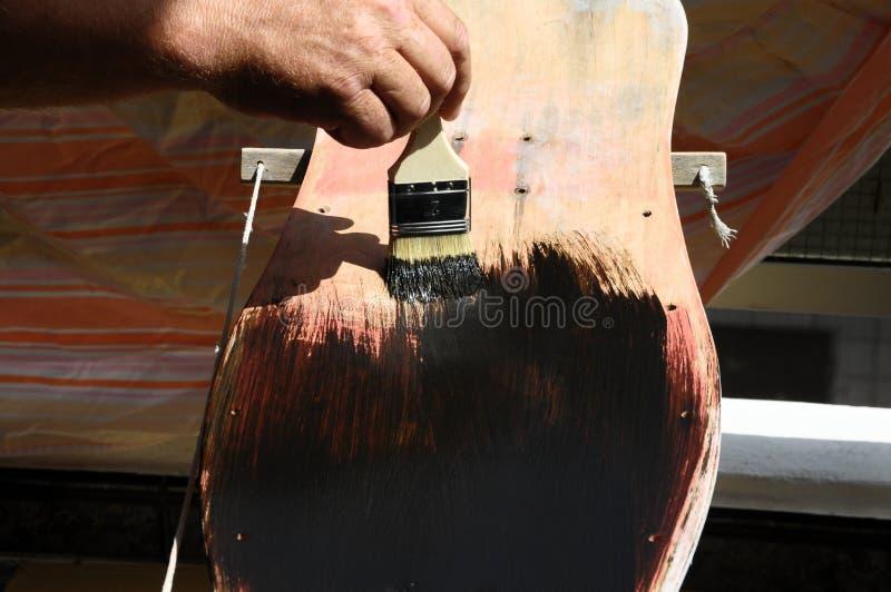 Download Restore An Old Vintage Skateboard Stock Photo - Image: 36708922