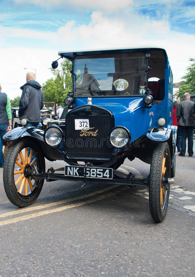 Restored Ford Model T royalty free stock images