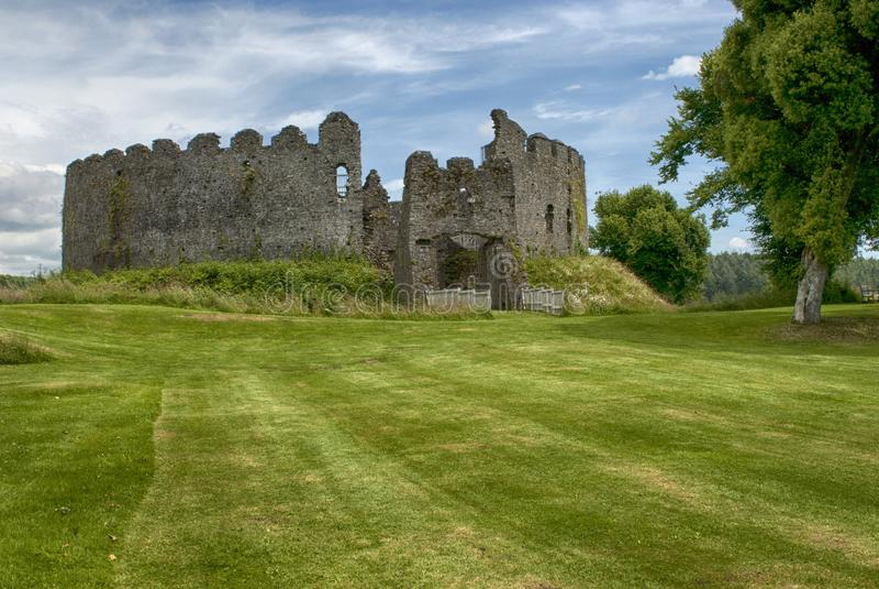 Restormel Castle κοντά σε Lostwithiel Κορνουάλλη στοκ φωτογραφία με δικαίωμα ελεύθερης χρήσης