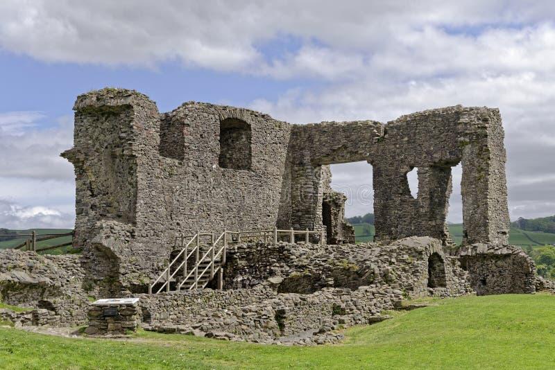 Restos del castillo de Kendal fotos de archivo