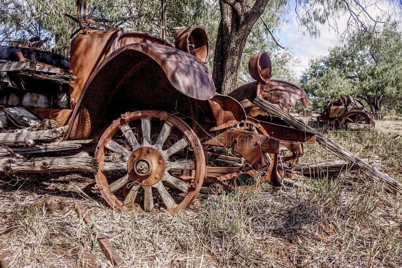 Restos del viejo camión anticuado imagen de archivo