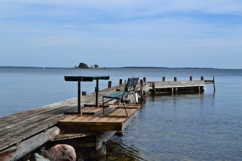 Restplace dans l'archipel photos stock