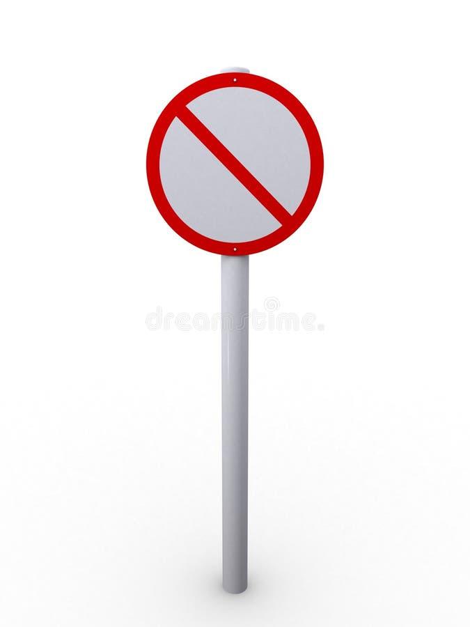 Download Restrict sign stock illustration. Image of informative - 3057316