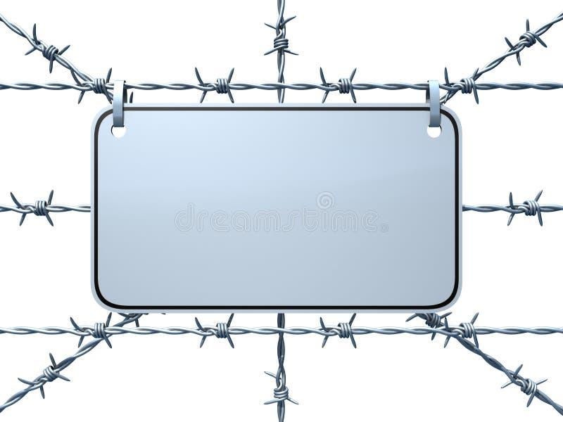 Download Restricted Area stock illustration. Image of fence, border - 2927236