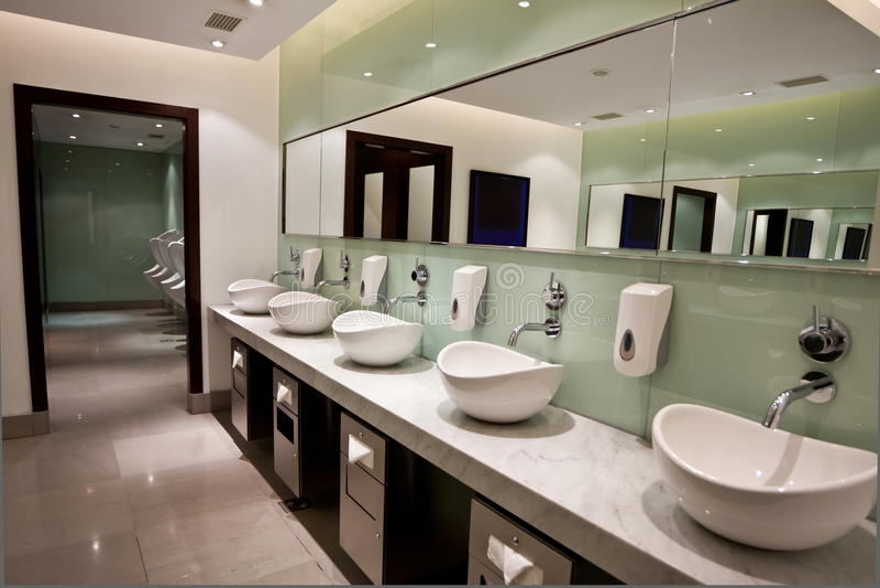Restroom stockbild