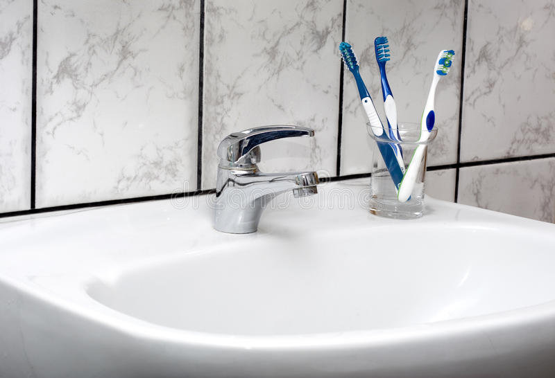 Download Restroom stock photo. Image of being, clean, disinfecting - 9813718