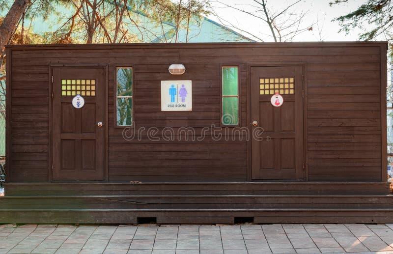 Download Restroom stock image. Image of restroom, privacy, wooden - 38806775