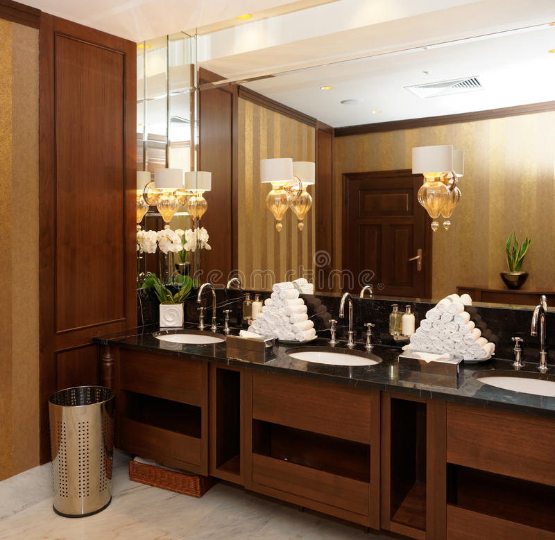 Download Restroom In Hotel Or Restaurant Stock Image - Image: 31793913