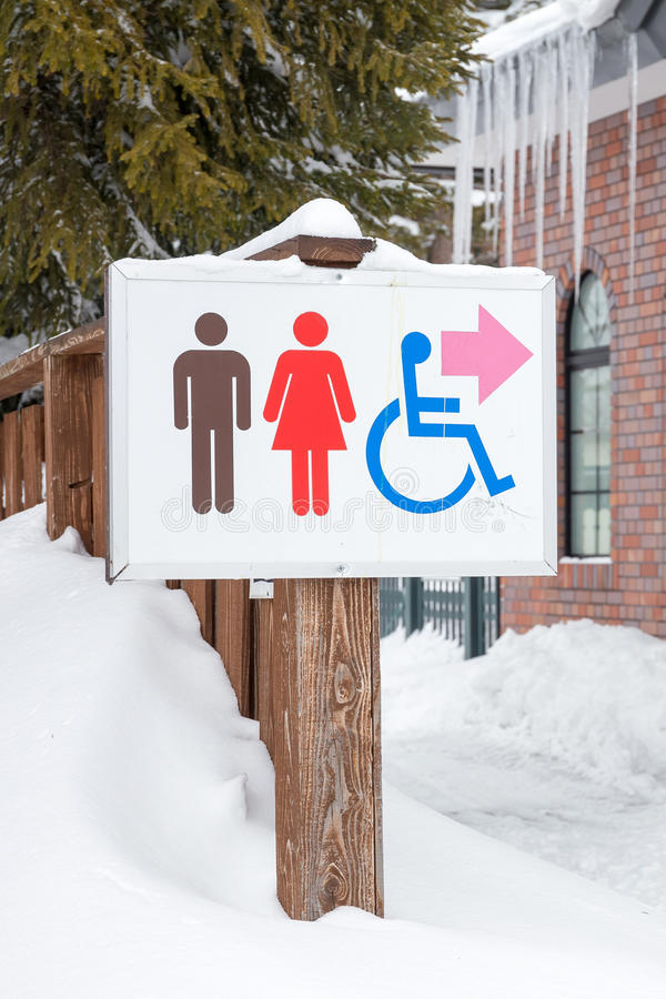 Download Restroom sign stock photo. Image of female, bathroom - 40765582