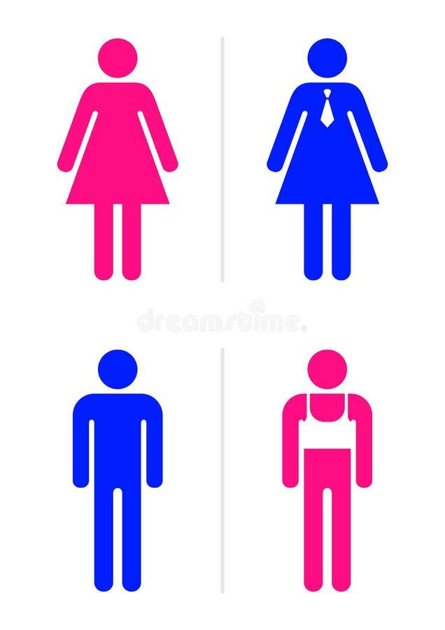 restroom signs. Wonderful Restroom Download Restroom Signs Stock Vector Illustration Of Pair Joke  9848587 To Signs