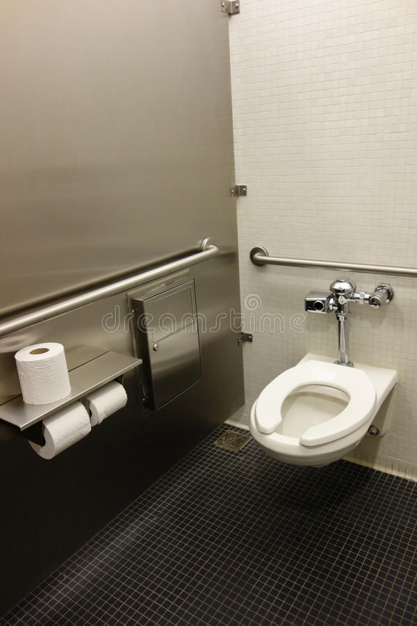 Restroom Stall royalty free stock image