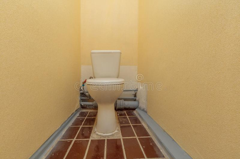 Restroom with toilet royalty free stock photography