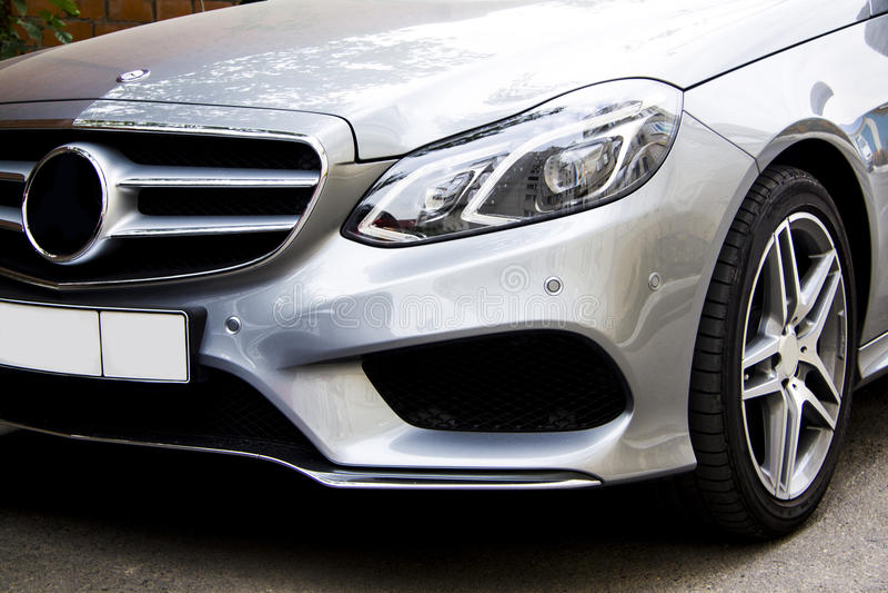 Restyle do Benz de Mercedes imagens de stock