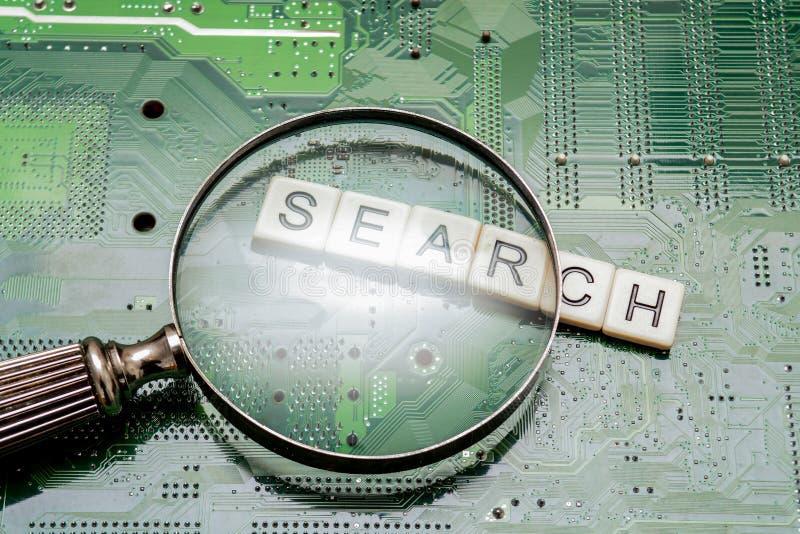 Resultados da busca da pergunta do Search Engine, procurando o Internet fotos de stock