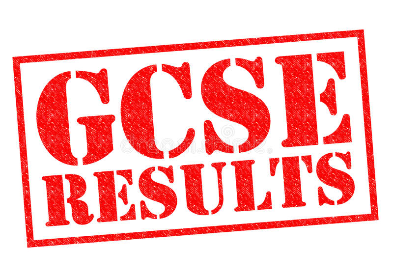 RESULTADOS DE GCSE imagem de stock royalty free