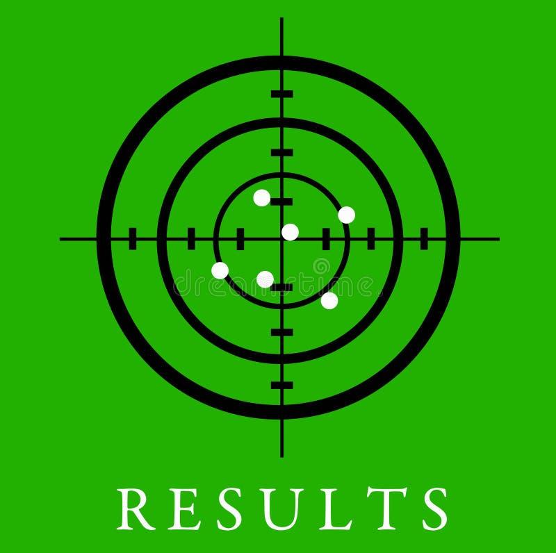 Resultaten stock illustratie