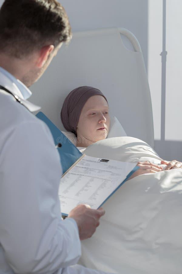 Resultaten van medische examens royalty-vrije stock foto