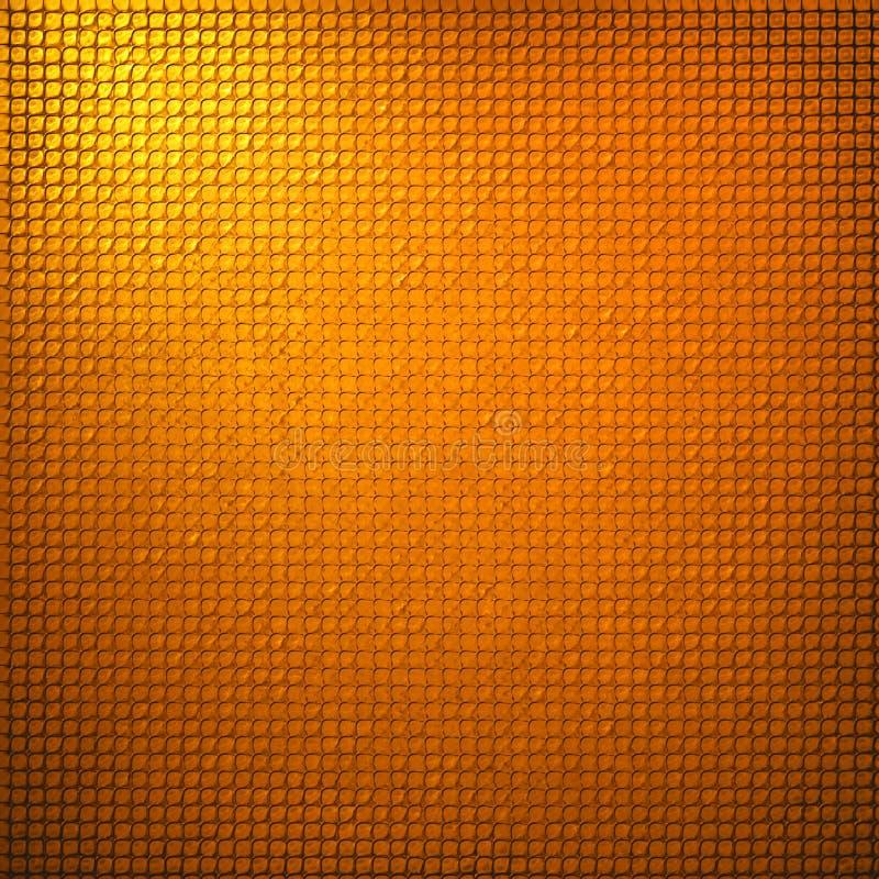 Resuma el diseño de la textura del fondo de la rejilla del oro fotografía de archivo libre de regalías