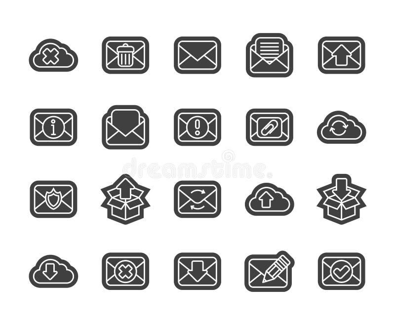 Resuma el diseño plano de los iconos ligeramente, línea moderna movimiento ilustración del vector