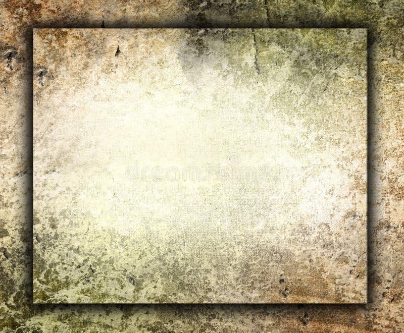 Resuma la pared vieja del grunge imagenes de archivo