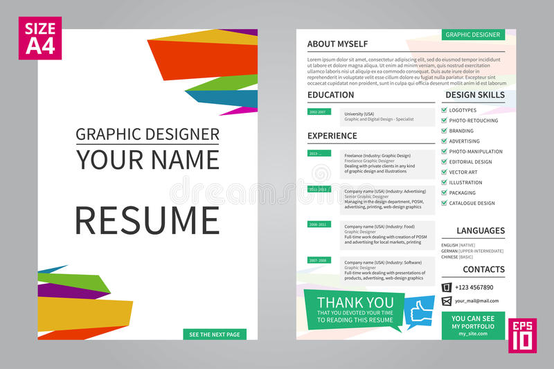resume for graphic designers