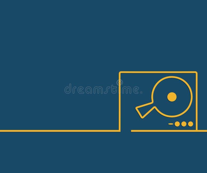 Resumen del fondo de dibujo de línea de concepto creativo para web, aplicación móvil, diseño de plantillas de ilustración, infogr ilustración del vector