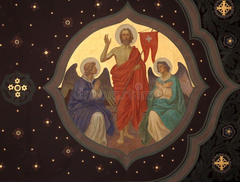 Resurrección de Cristo imágenes de archivo libres de regalías