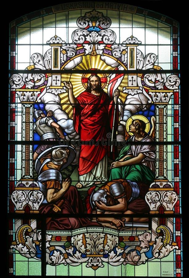 Resurrección de Cristo imagenes de archivo