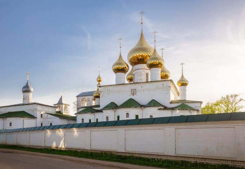 Resurrection Monastery in Uglich stock photo