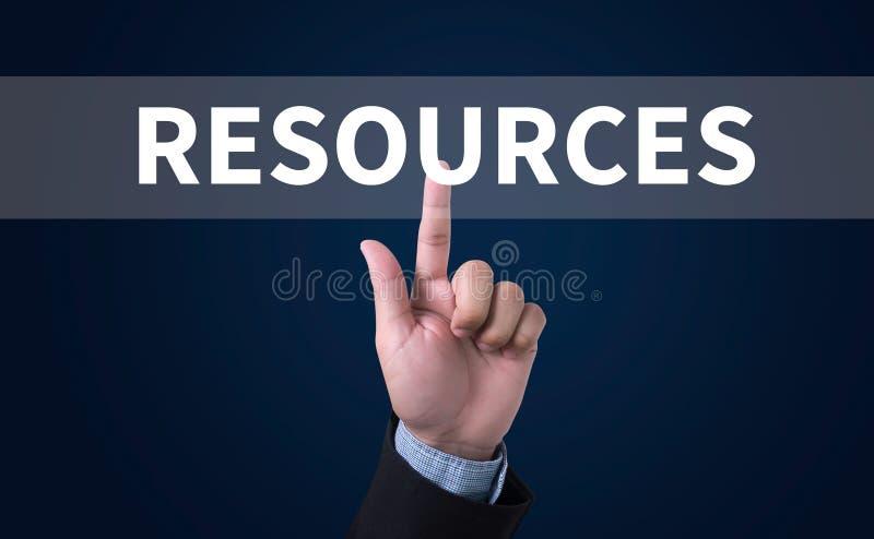 resurser royaltyfri fotografi