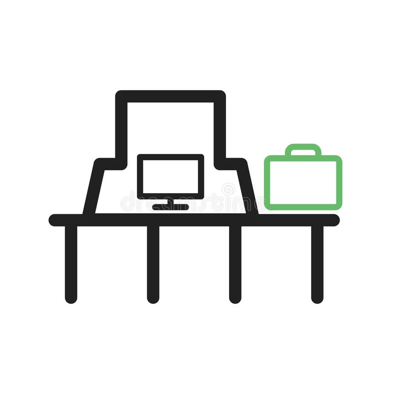 Download Resväskakontroll vektor illustrationer. Illustration av begrepp - 78731022