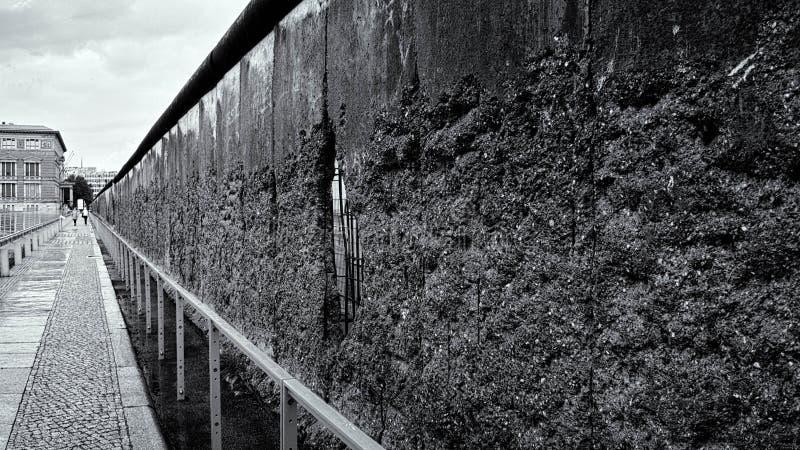 Resztki Berlińska ściana obraz stock