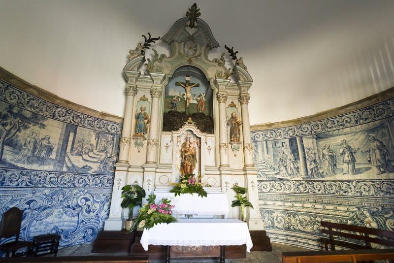 Retábulo da capela da boa ajuda fotos de stock