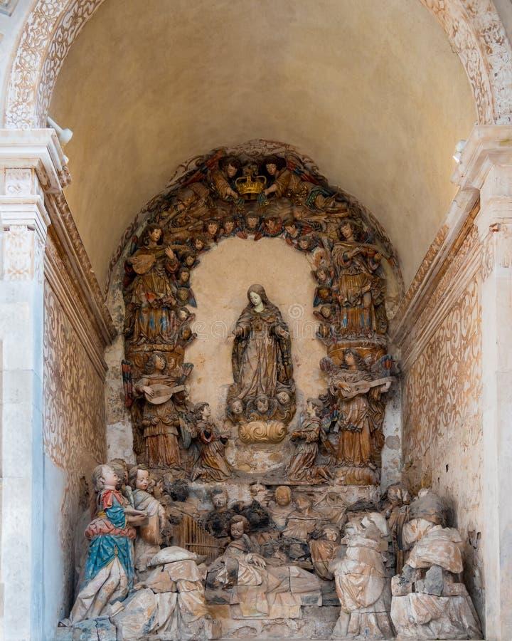 Retable смерти St Bernard стоковое фото